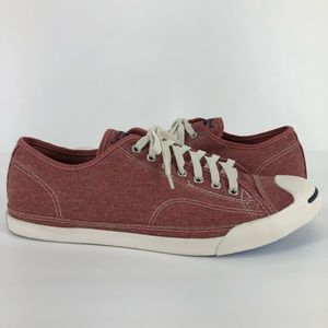 Converse Jack Purcell Mens 13 Sneakers Low Red